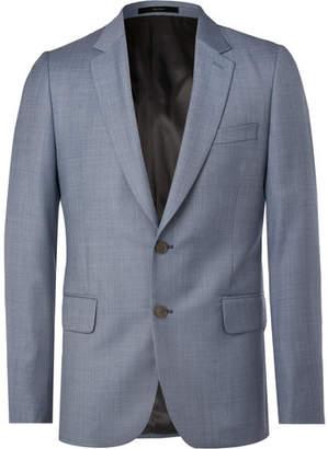 Paul Smith Soho Slim-Fit Wool-Sharkskin Suit Jacket