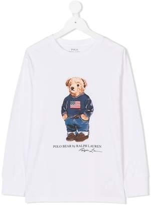 Ralph Lauren Polo Bear long-sleeved T-shirt