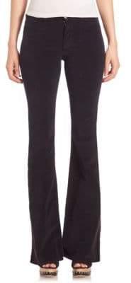 MiH Jeans Marrakesh Velvet Flared Pants