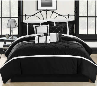 Chic Home Vermont 12-Pc Queen Comforter Set Bedding