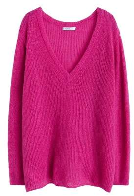 Violeta BY MANGO Textured knit sweater