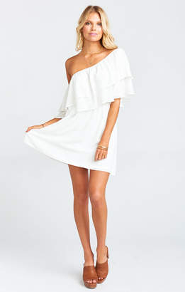 Show Me Your Mumu Holly Dress ~ White Picnic