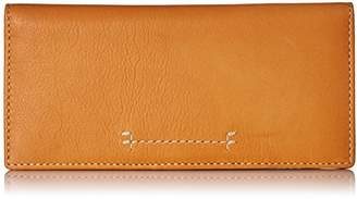 Frye Women's Carson Continental Slim Snap Wallet Pebbled Leather
