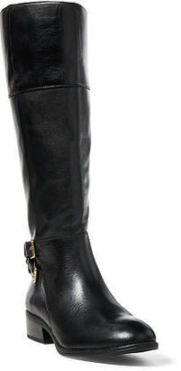 Ralph Lauren Marba Burnished Calfskin Boot $159 thestylecure.com