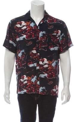 Lanvin Hawaiian Fantastic Short Sleeve Shirt