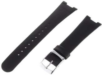 "Alessi ALSl405 Black Strap for ""Luna"" Al8004 Watch Strap"