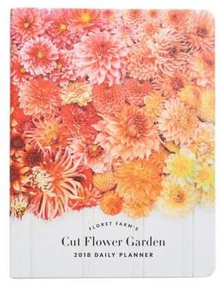 Chronicle Books Floret Farms Cut Flower Garden 2018 Daily Planner