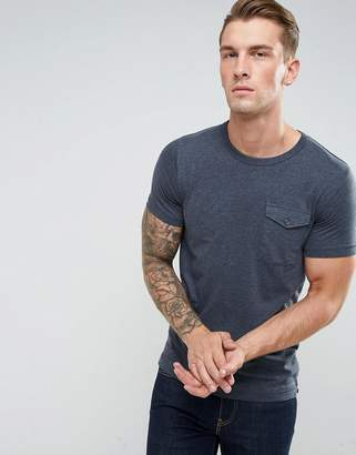 French Connection T-Shirt with Military Flap Pocket