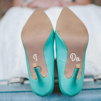Me Too The Little Handcrafted Company 'I Do' And 'Me Too' Wedding Shoe Decals