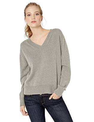 Amazon Brand - Daily Ritual Women's 100% Cotton V-Neck Sweater