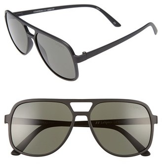 Women's Le Specs Cousteau 58Mm Sunglasses - Matte Black $69 thestylecure.com