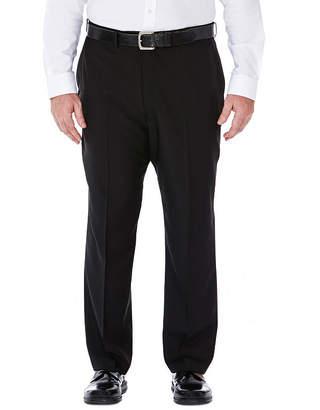 Haggar Classic Fit Flat Front Pants-Big and Tall
