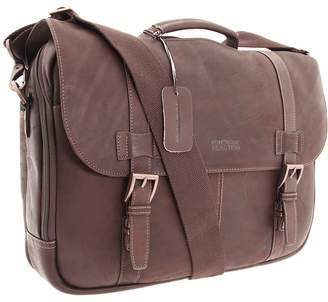 Kenneth Cole Reaction Colombian Leather - Flapover Portfolio/Computer Case Computer Bags
