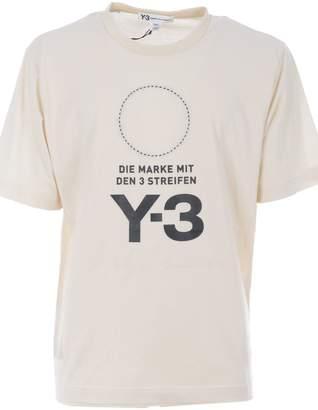 Y-3 Y 3 Die Marke Fit T-shirt