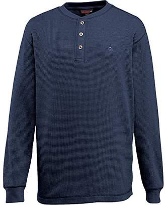 Wolverine Men's Big-Tall Walden Long Sleeve Blended Thermal 3 Button Henley Shirt