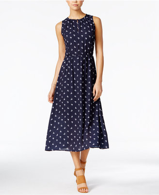 Maison Jules Printed Midi Dress, Only at Macy's $79.50 thestylecure.com