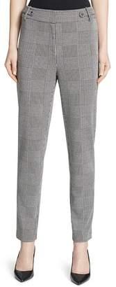 Calvin Klein Glen Plaid Ankle Pants