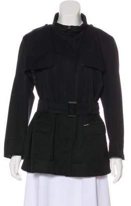 Façonnable Wool Belted Jacket