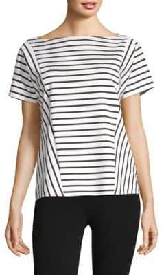 Lafayette 148 New York Britt Striped Top
