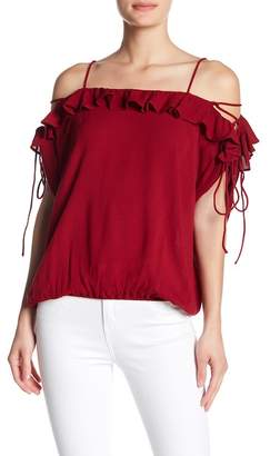 Anama Cold Shoulder Blouse