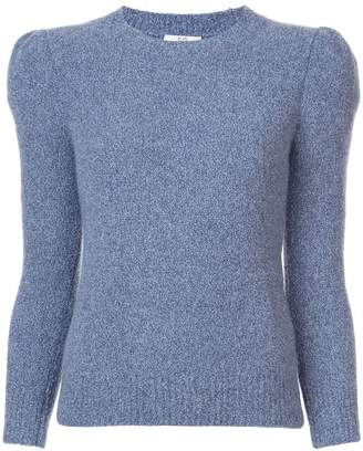 Co structured shoulder sweater