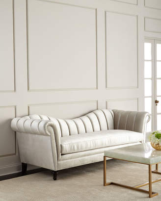 At Horchow · Haute House Hathaway Channel Tufted Sofa