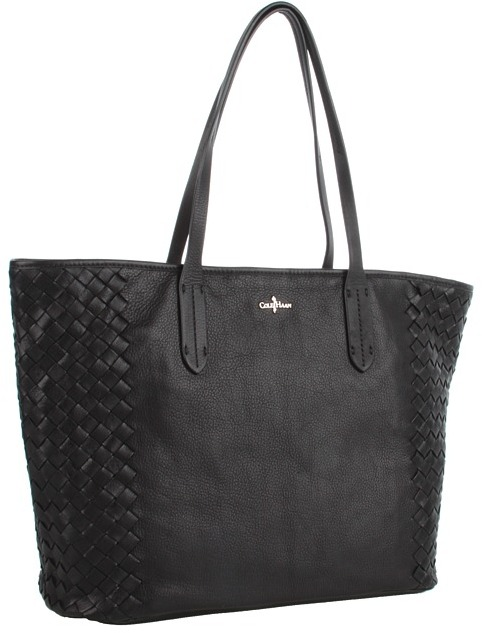 Cole Haan Victoria Solid Tote (Black) - Bags and Luggage