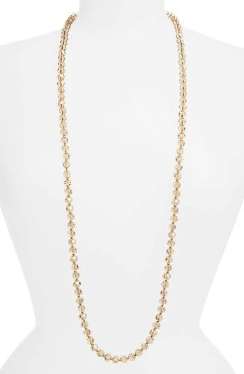 Love's Affect Faceted Crystal Necklace