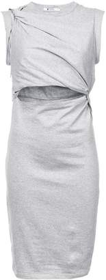 Alexander Wang wrap-around jersey dress