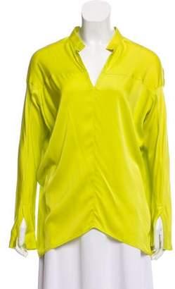 Zero Maria Cornejo Oversize Silk Top