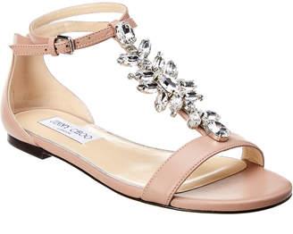 Jimmy Choo Averie Leather Sandal