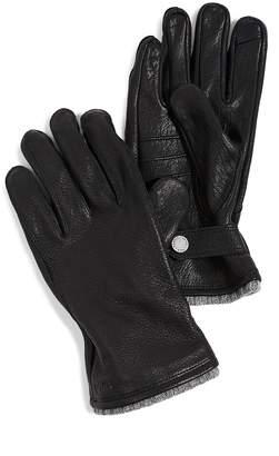 Polo Ralph Lauren Deerskin Gloves with Knit Cuff
