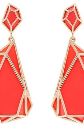 Karen Millen Jewellery Colour Shard Statement Earrings KMJ1166-30-92