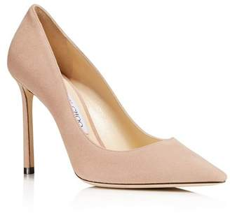 Jimmy Choo Women's Romy 100 High-Heel Pointed Toe Pumps