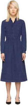 A.P.C. Indigo Romy Dress