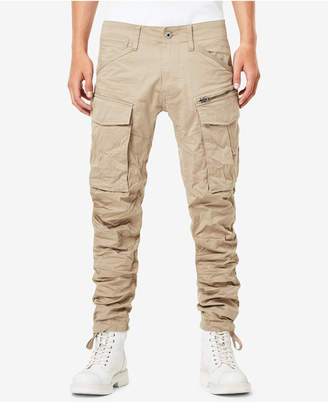G Star Men's Rovic 3D Slim-Fit Tapered Cargo Pants