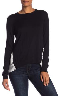 Susina Pleated Twofer Sweater (Regular & Petite)