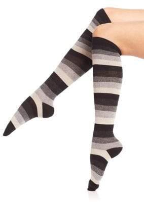 Ilux Candy Cane Striped Knee High Socks