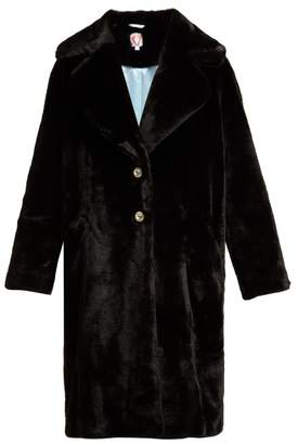 Shrimps - Eamon Faux Fur Coat - Womens - Black