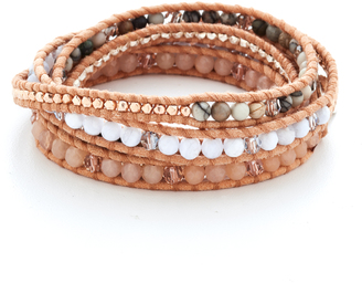 Chan Luu Mix Wrap Bracelet $215 thestylecure.com
