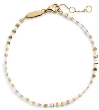 Argentovivo Sydney Beaded Rope Bracelet