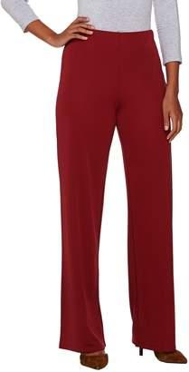 Halston H By H by Regular Jersey Knit Wide Leg Pants