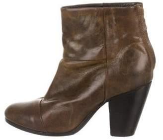 Rag & Bone Newbury Round-Toe Ankle Boots Brown Newbury Round-Toe Ankle Boots