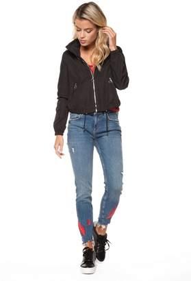 Dex Drawstring Zip-Up Jacket