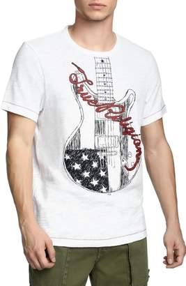 True Religion Brand Jeans Puff Guitar T-Shirt