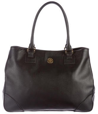 Tory Burch Tory Burch Saffiano Leather Tote