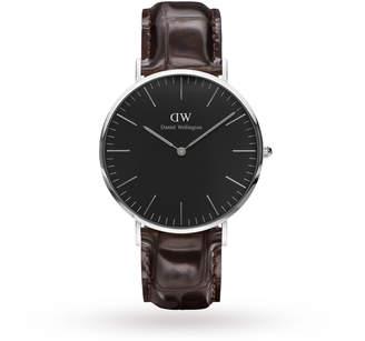 Daniel Wellington Unisex Classic Black York Watch 40mm Watch