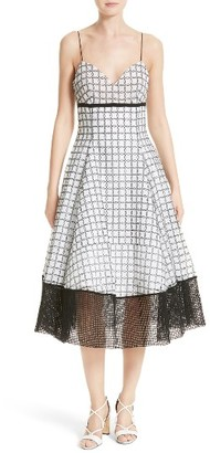 Women's Tracy Reese Fit & Flare Dress $398 thestylecure.com