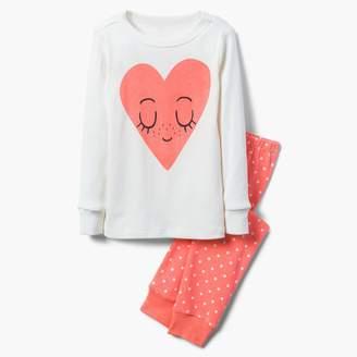 Gymboree Heart 2-Piece Pajamas