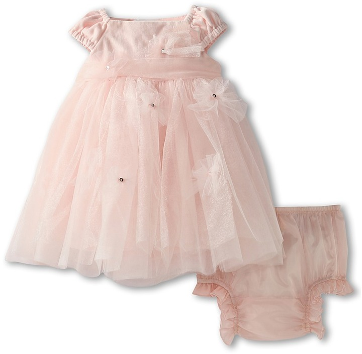 Biscotti Ice Princess Velveteen Ballerina (Newborn) (Pink) - Apparel